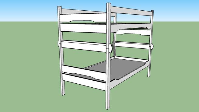 Roycroft Inspired Bunk Bed