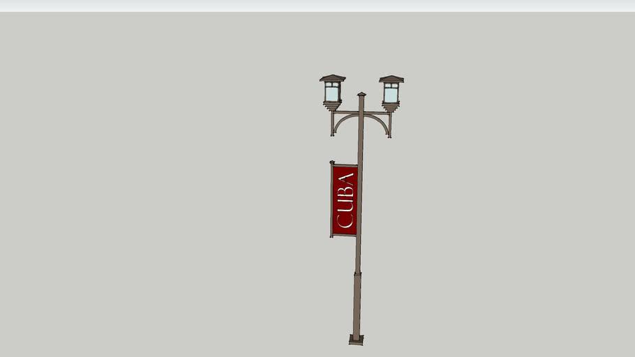 Mission Street Lamp