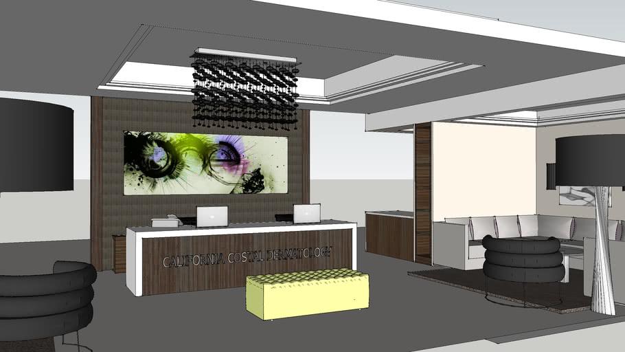 Modern Medical Office Reception