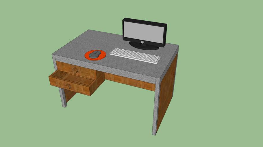 ordinateur et bureau v