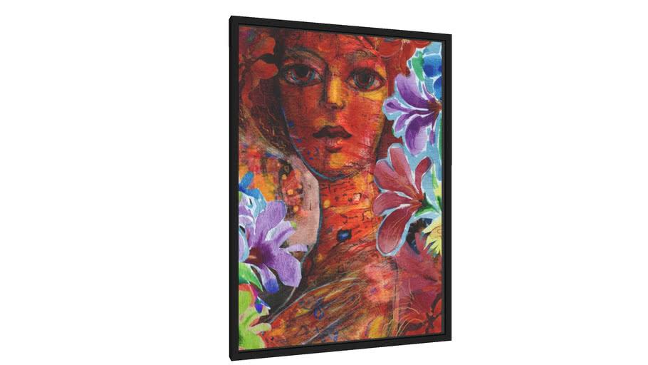 Quadro Mulher em Vermelho - Galeria9, por Nato Gomes