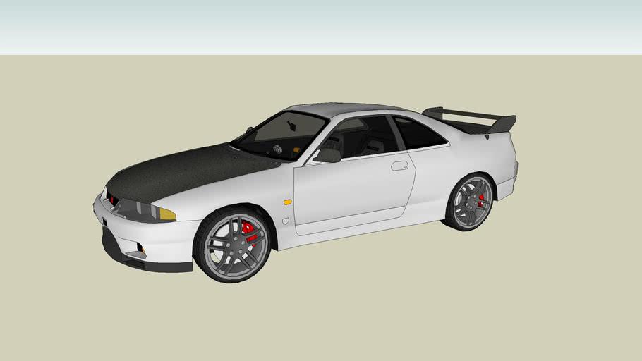Tuned Nissan Skyline R33 GT-R V - Spec