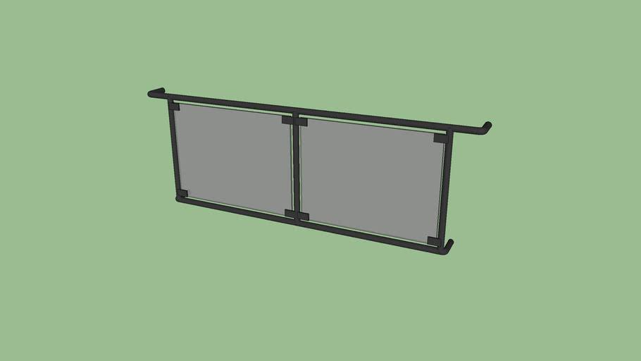 Cam Korkuluk | Glass Railing