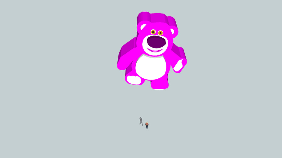 Lotso flew high into the air