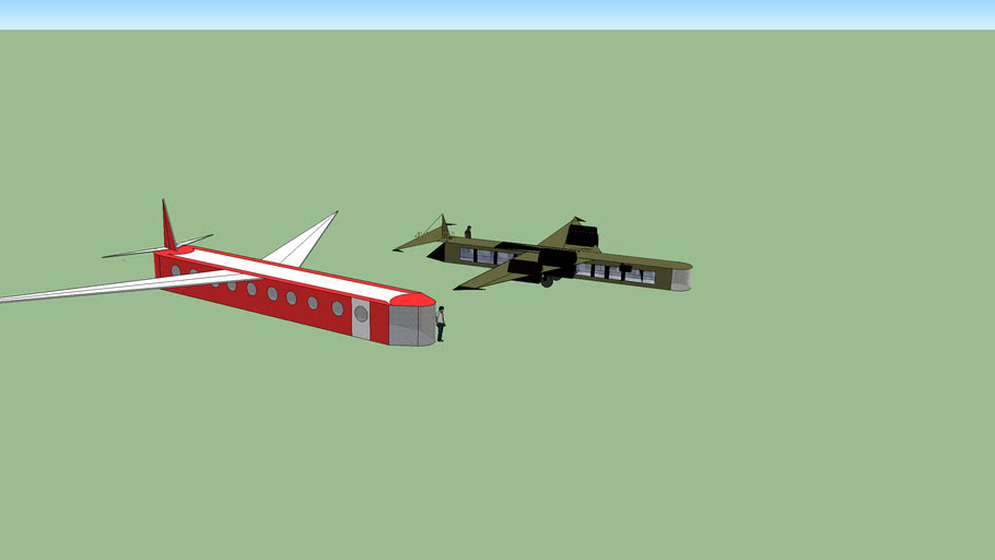 Two cool planes