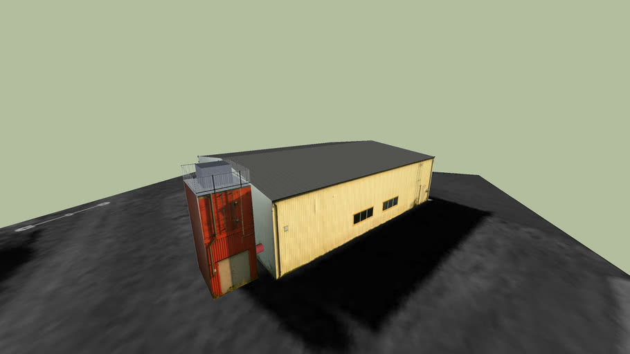 Kinnarps hangar