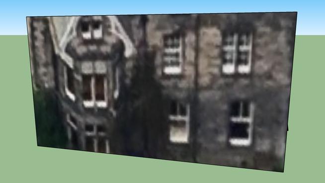 Building in Edinburgh, City of Edinburgh, UK 222