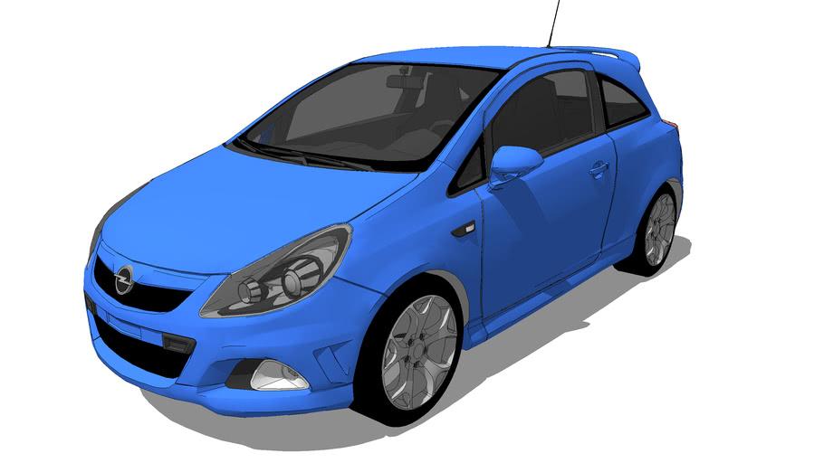 Fahrzeuge - Opel Corsa D OPC