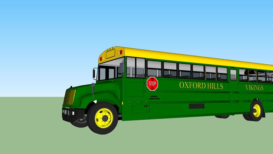 Oxford Hills Vikings Bus