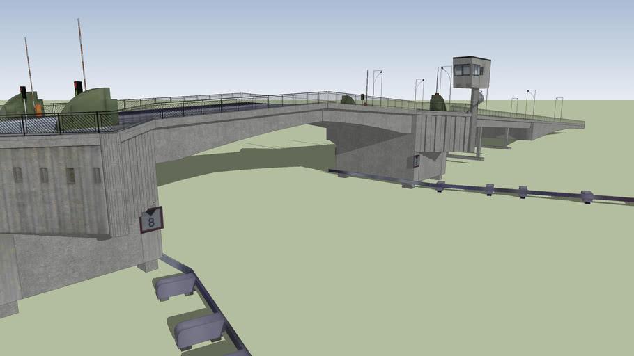 Bridge in Porsgrunn, Norway by Langli Design