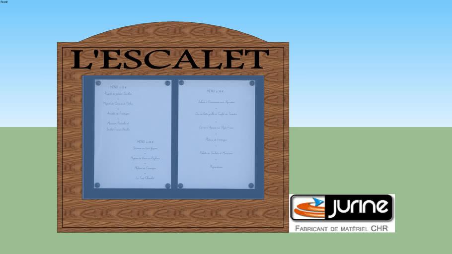 porte menu ext. VOSGES