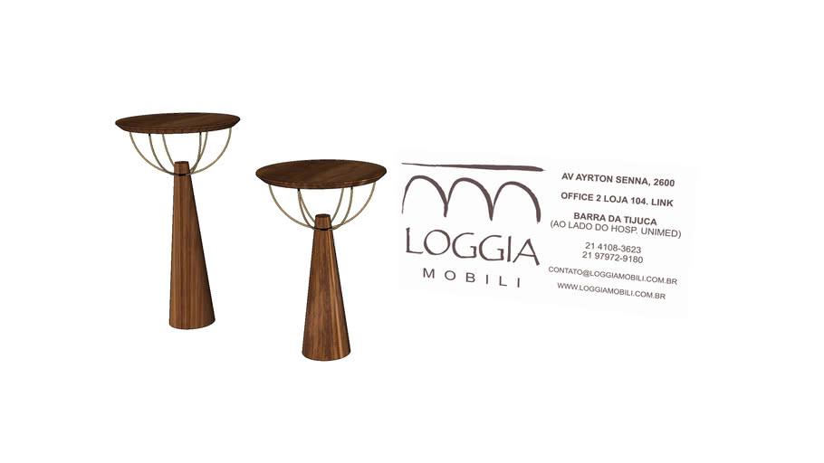 Mesa Lateral Ecco TM Loggia Mobili