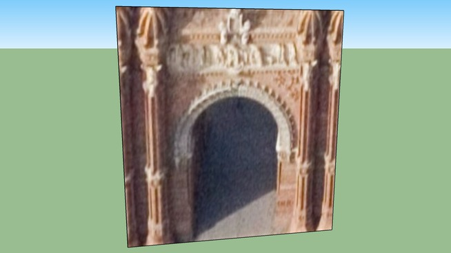 Arc de Trionf, Espanya