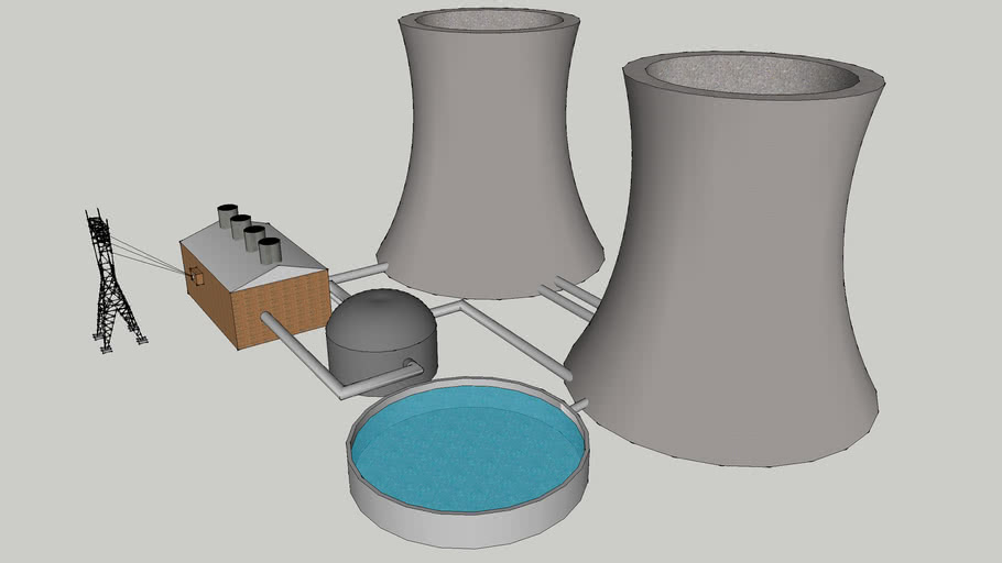 basic nuclear power plant