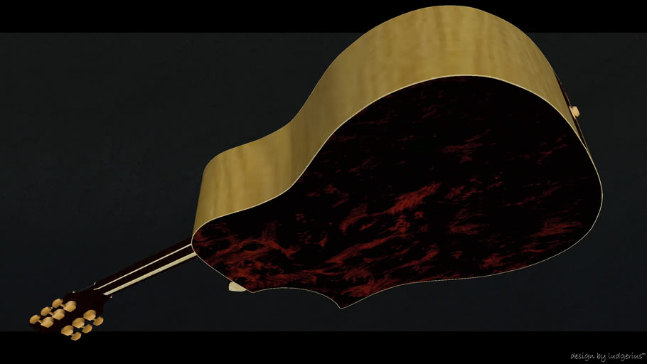 Guitar - limited edition | ludgerius F 530