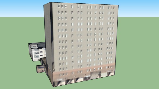 Building in New Orleans, LA, USA
