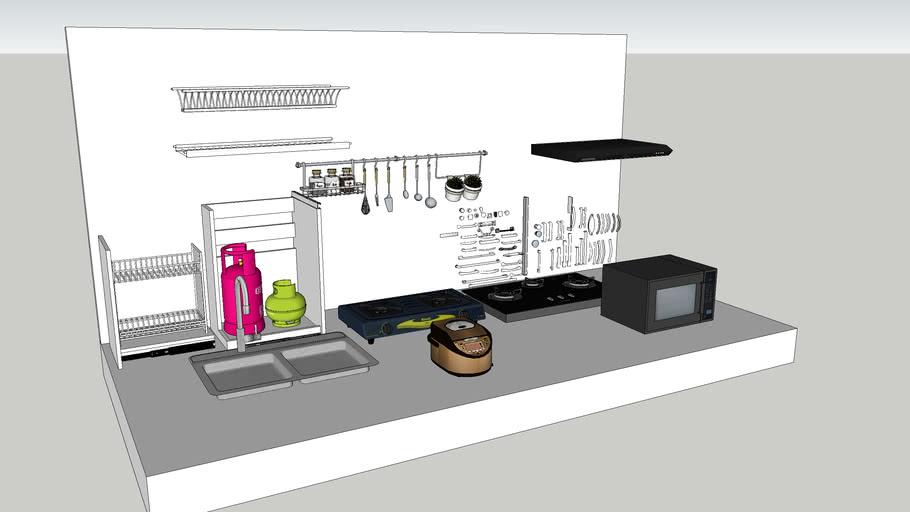 Aksesoris Kitchen set