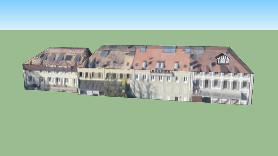 Bâtiments sud Place Dufour Morges, Suisse