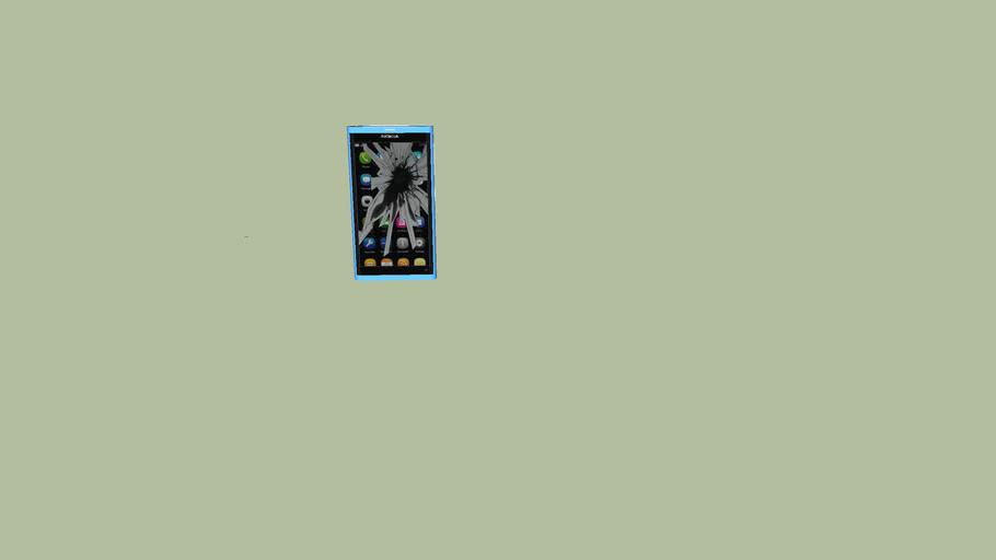 Cracked Nokia N9