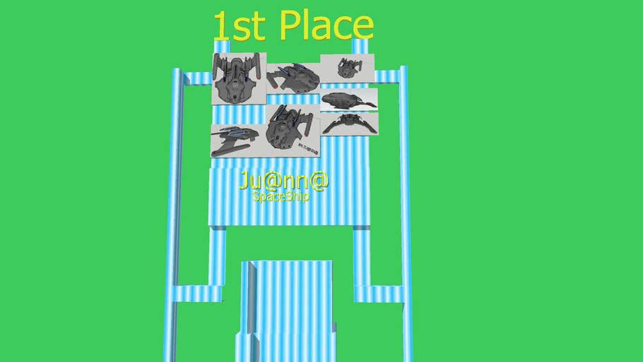 1st Place 3D UFO Contest