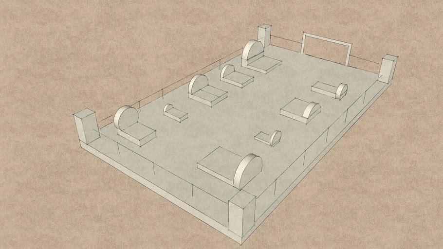 Židovsko groblje u 3D modelu