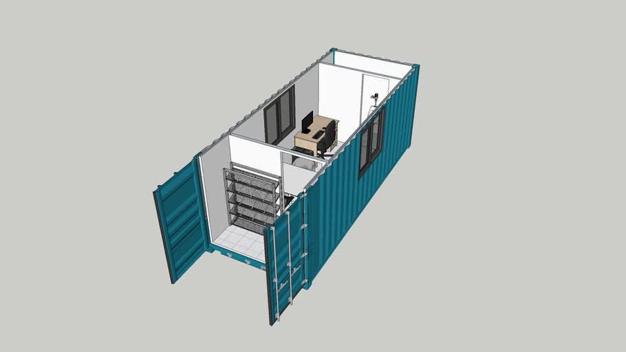 container control room