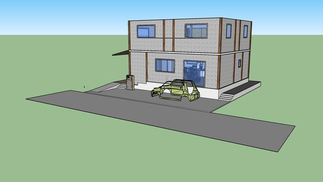 建築予定の自宅