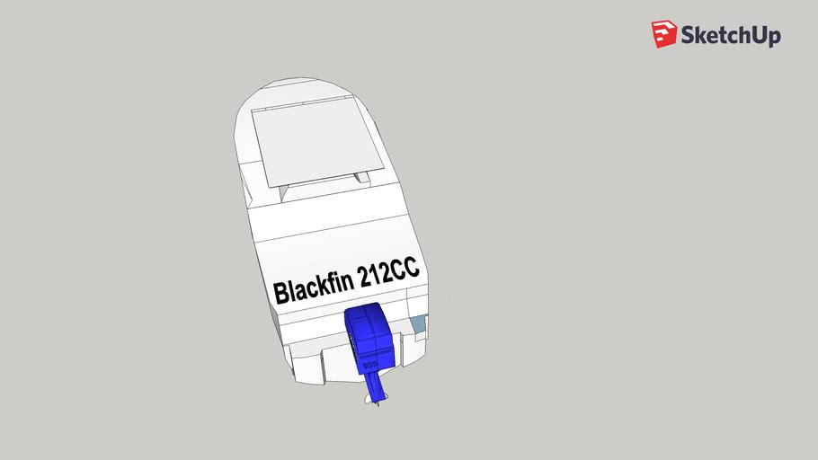 Blackfin 212CC with Engine