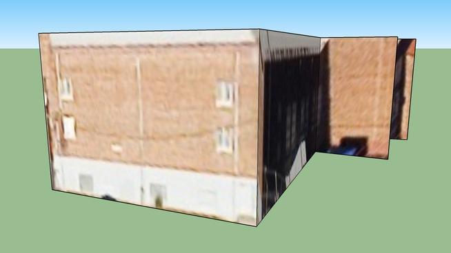 孟菲斯, TN, USA的建筑模型