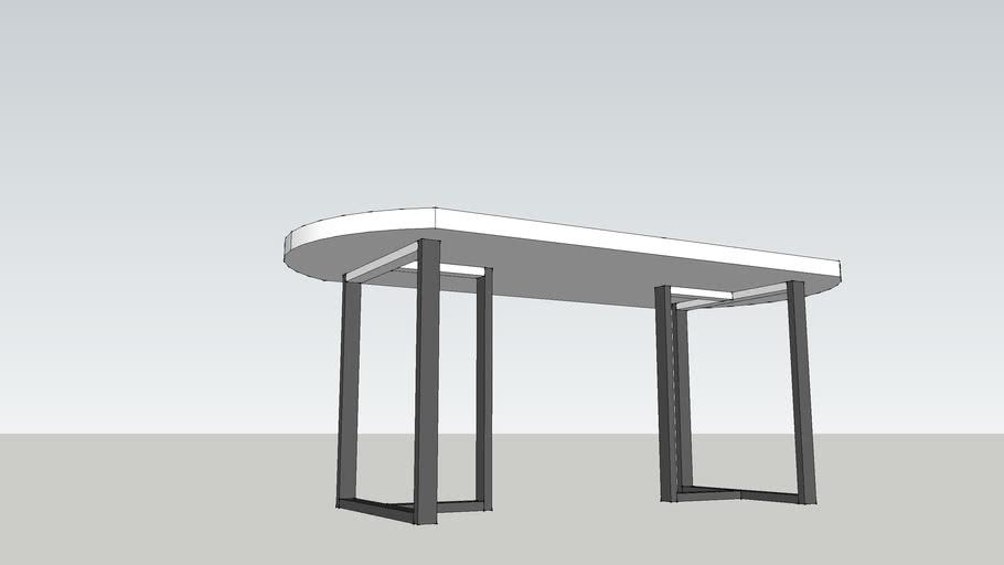 Kellum Oval Dining Table