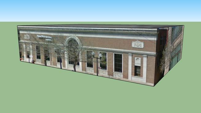 Bâtiment situé Chicago, Illinois, États-Unis