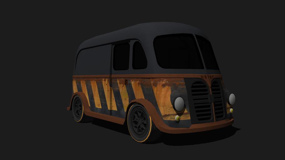 1950 Metro International Van Rusted