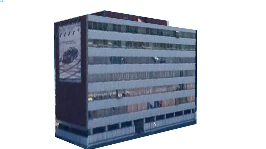 Building in Milan, Italy