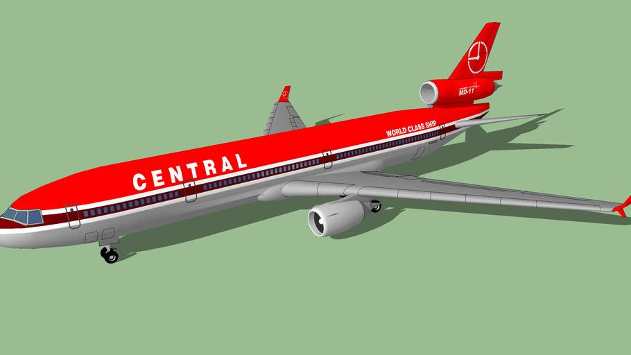 Central Air Lines (1991 [FICTIONAL]) - McDonnell Douglas MD-11ER