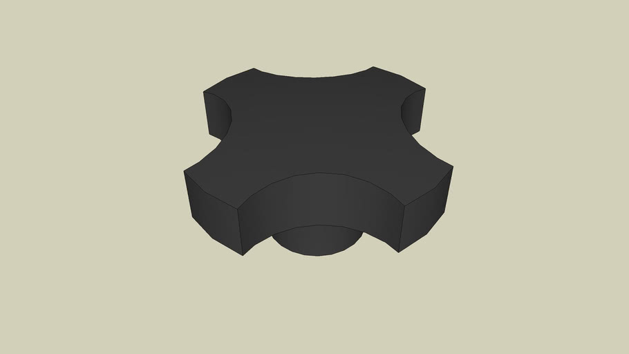 Plastic Knob Type STR 10mm
