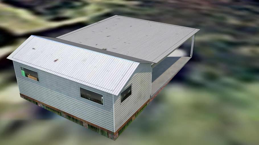 96 Hopfields Road - garage