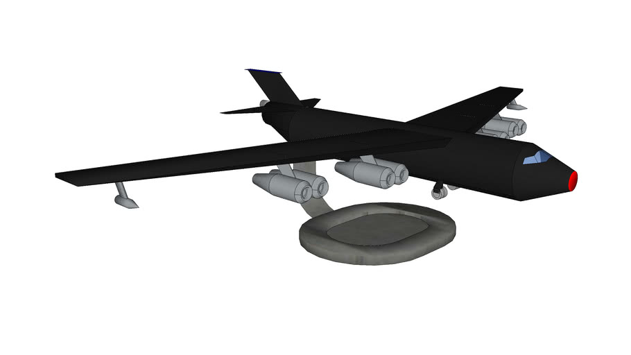 Tabletop B-52 with stand