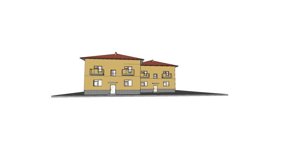 Позднякова 233-А. Жилой двухэтажный дом.