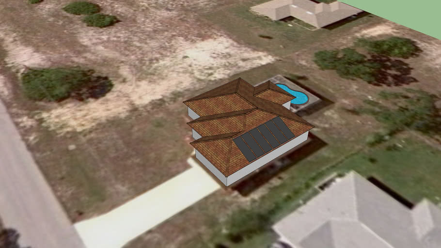 Fafco Solar Proposal for Solar Pool Heatin System at 1705 NW 28th St