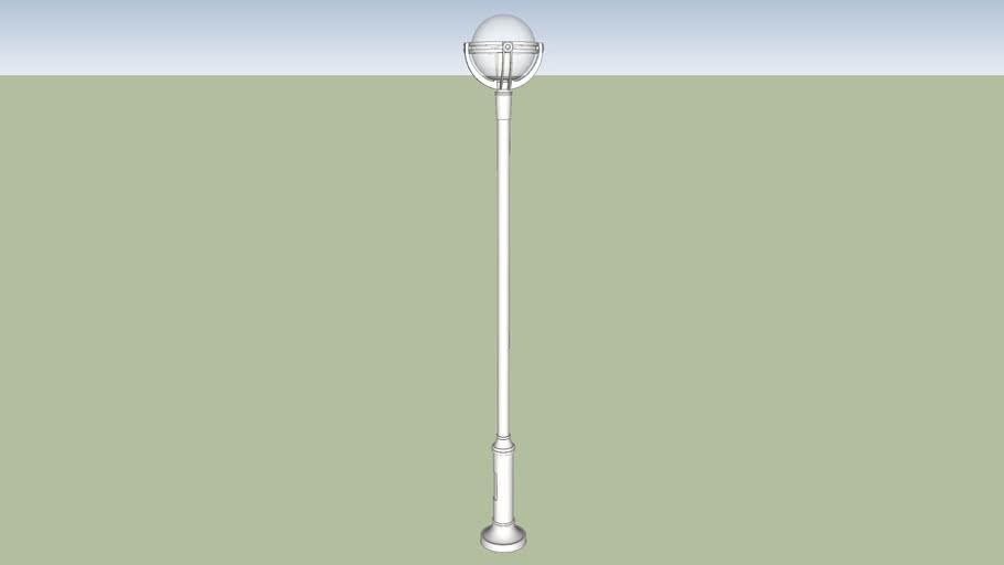 single street light