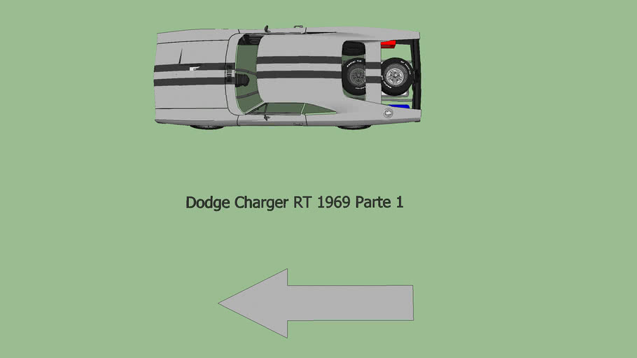 Dodge Charger RT 1969 Parte 1