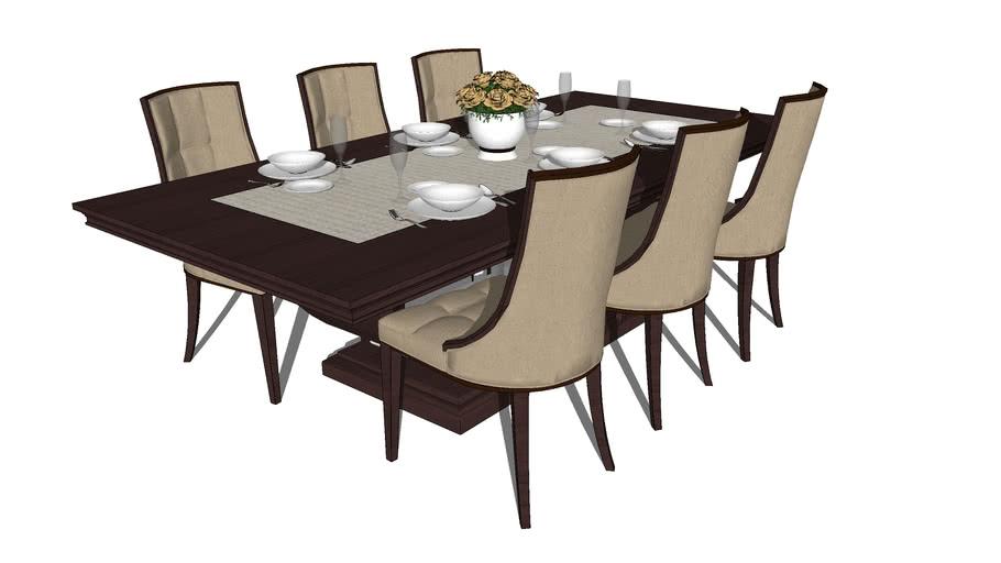 bàn ăn 8