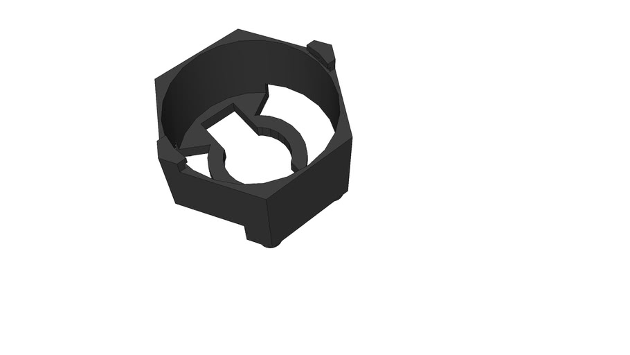 Carclo hexagonal lens holder