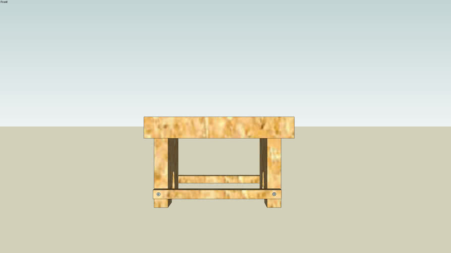 Homemade stool