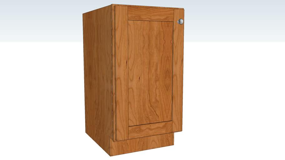 Base Single Door Full Height - Full Depth Shelf