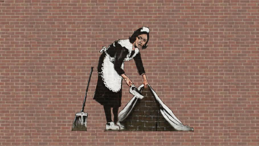 Banksy Maid