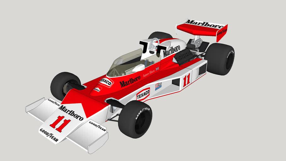 James Hunt's McLaren M23 1976