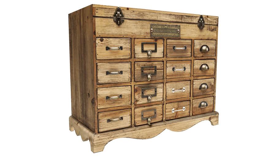 82819 Dresser Cookies 17 Drawers