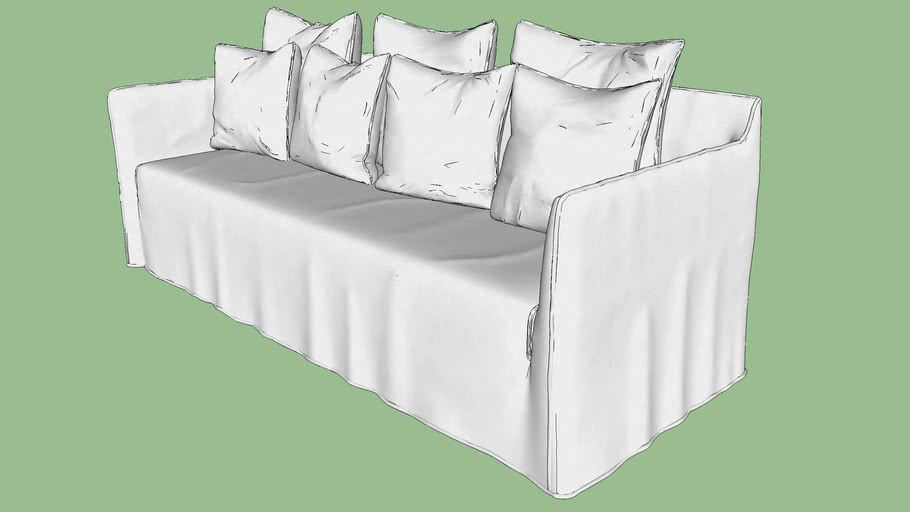 Gervasoni Ghost Couch