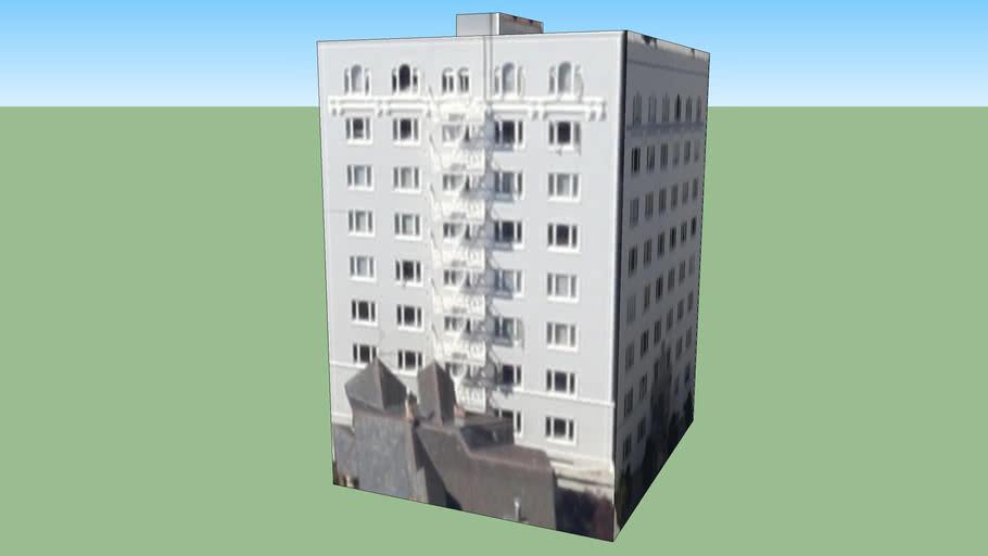 An Apartment Block in San Francisco
